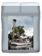 Mobile Osprey Nest Duvet Cover