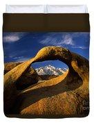 Mobius Arch Duvet Cover