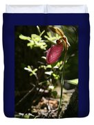 Moccasin Flower Duvet Cover