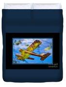 Model Plane 2 Duvet Cover