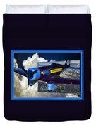 Model Planes Hershey 01 Duvet Cover