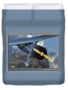 Model Planes Top Wing 04 Duvet Cover