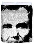 Modern Abe - Abraham Lincoln Art By Sharon Cummings Duvet Cover