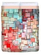 Modern Abstract X Duvet Cover