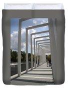 Modern Archway - Schwerin Garden -  Germany Duvet Cover