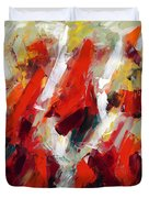 Modern Art Thirty-two Duvet Cover