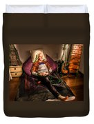 Modern Day Jesus Duvet Cover by Semmick Photo