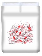 Modern Drawing Ninety-five Duvet Cover