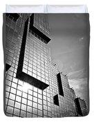 Modern Glass Building Duvet Cover
