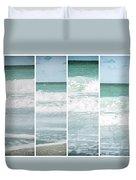 Modern Ocean Quad  Duvet Cover