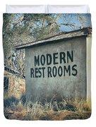 Modern Restrooms Duvet Cover