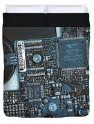 Modern Technology Duvet Cover by Jutta Maria Pusl