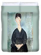 Modigliani's Cafe Singer Duvet Cover