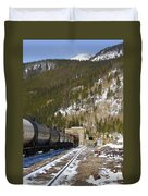 Moffat Tunnel East Portal At The Continental Divide In Colorado Duvet Cover