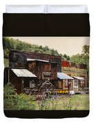 Mogollon-theatre-new Mexico  Duvet Cover