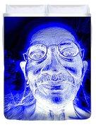 Mohandas Gandhi Duvet Cover