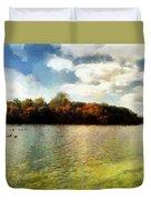Mohegan Lake 3 Duvet Cover