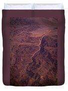 Mojave Desert Aerial Duvet Cover