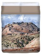 Mojave Desert View - Valley Of Fire Duvet Cover