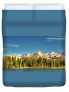 Molas Lake And The Needles Pan 1 Duvet Cover