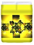 Moldavite Duvet Cover