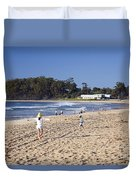 Mollymook Beach On The South Coast Of New South Wales Australia Duvet Cover