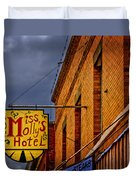 Miss Molly's Hotel Duvet Cover