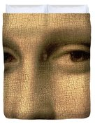 Mona Lisa    Detail Duvet Cover