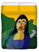 Mona Lisa Updated Duvet Cover