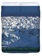 Monaco Glacier Liefdefjorden Norway Duvet Cover