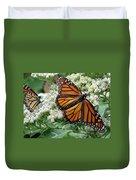 Monarch Butterfly 52 Duvet Cover