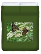 Monarch Butterfly 57 Duvet Cover