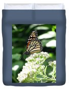 Monarch Butterfly 58 Duvet Cover