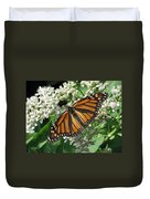 Monarch Butterfly 62 Duvet Cover