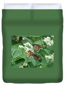 Monarch Butterfly 65 Duvet Cover