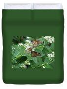 Monarch Butterfly 66 Duvet Cover