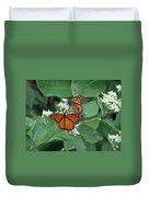 Monarch Butterfly 68 Duvet Cover