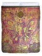 Monarch Butterfly By Alfredo Garcia Duvet Cover