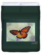 Viceroy Butterfly By George Wood Duvet Cover