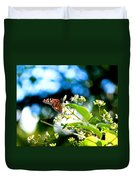 Monarch Butterfly I Duvet Cover