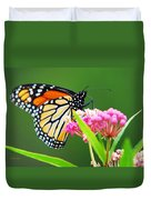 Monarch Butterfly Simple Pleasure Duvet Cover