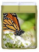 Monarch Moment Duvet Cover