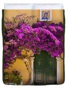 Monastery Door Duvet Cover