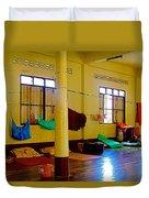 Monastery Dormitory In Tachilek-burma Duvet Cover