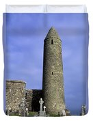 Monastic Round Tower Duvet Cover