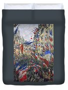 Monet: Montorgeuil, 1878 Duvet Cover