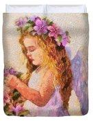 Monet Silked Angel Duvet Cover