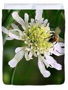 Monet's Garden Bee. Giverny Duvet Cover