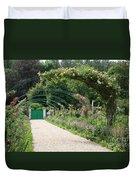 Monets Garden - Giverney - France Duvet Cover