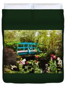 Monet's Garden Duvet Cover